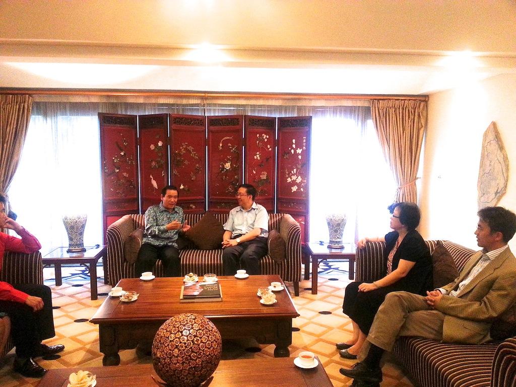 130114 Dinner Reception at Ambassador Tian's Residence